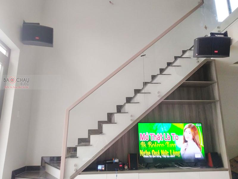 Dàn karaoke gia đình anh Nam tại TP HCM
