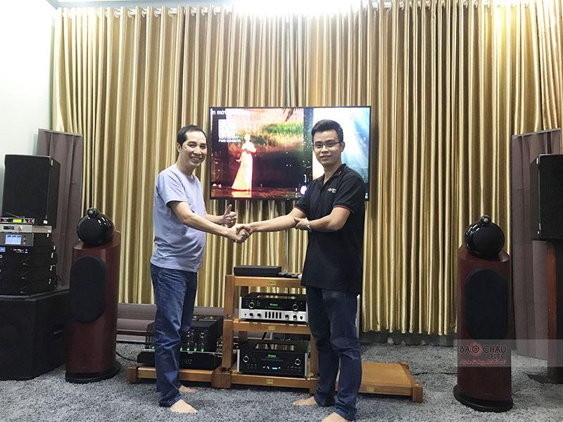 Dàn nghe nhạc Hi-end cho anh Phong tại Phú Yên