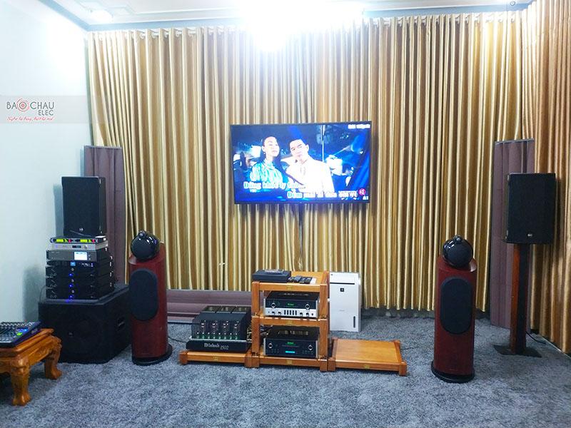 Dàn nghe nhạc Hi-end của anh Phong tại Phú Yên