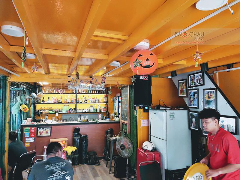 hệ thống âm thanh Quán mini pub của anh Hồ h4
