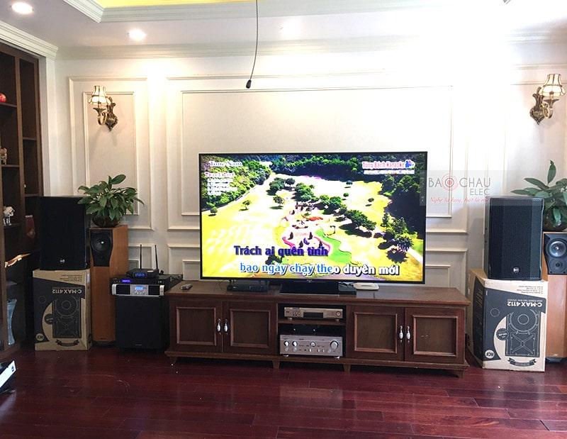 Dàn karaoke cao cấp của gia đình anh Sơn h5