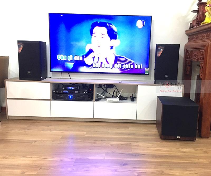 Dàn karaoke gia đình chị Hiếu ở Long Biên h5