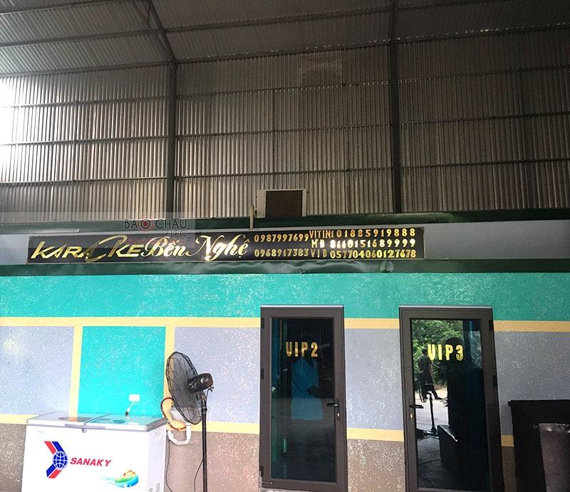 phòng hát karaoke VIP cho quán karaoke Bến Nghệ h10