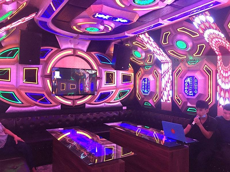Lắp đặt dàn karaoke kinh doanh RCF VIP cho quán karaoke Bến Nghệ