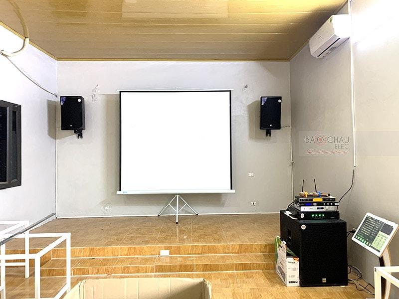 dàn karaoke cafe cho anh Hải ở Thanh Oai h7
