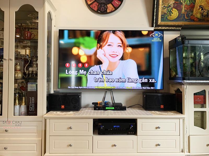 Dàn karaoke gia đình chị Châu tại Hà Nội