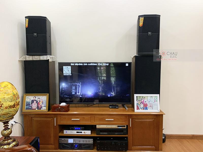 Dàn karaoke gia đình anh Chính tại Hà Nội