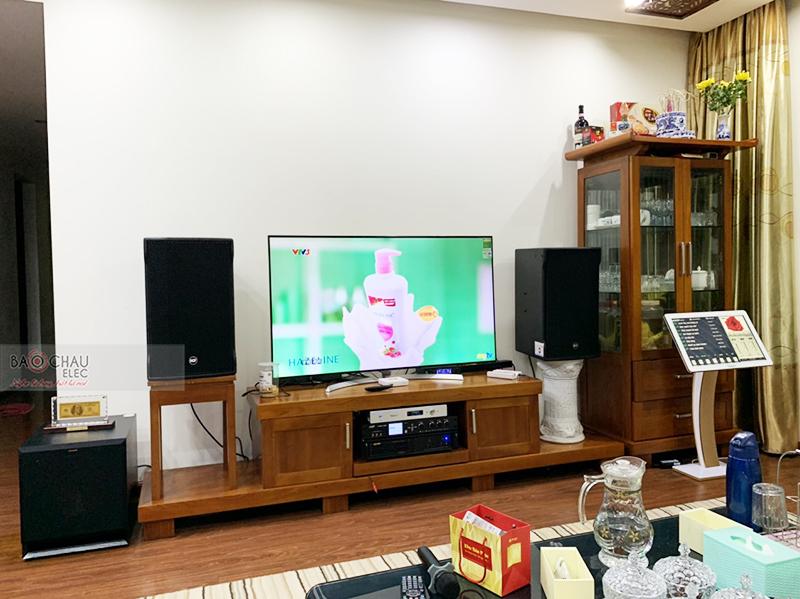 Dàn karaoke gia đình anh Khánh h5