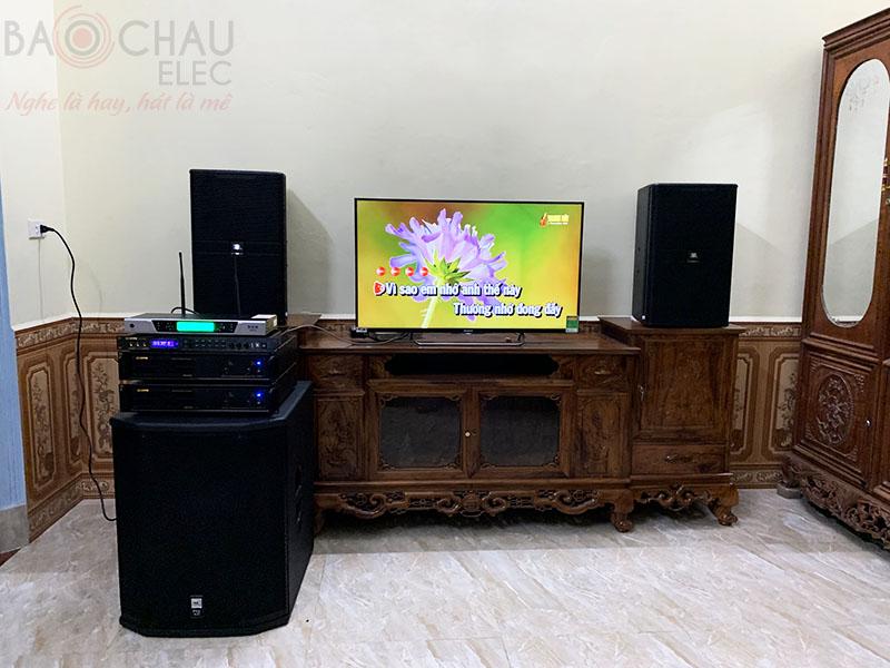 Bộ dàn karaoke gia đình của anh Long tại Ba Vì - HN h5