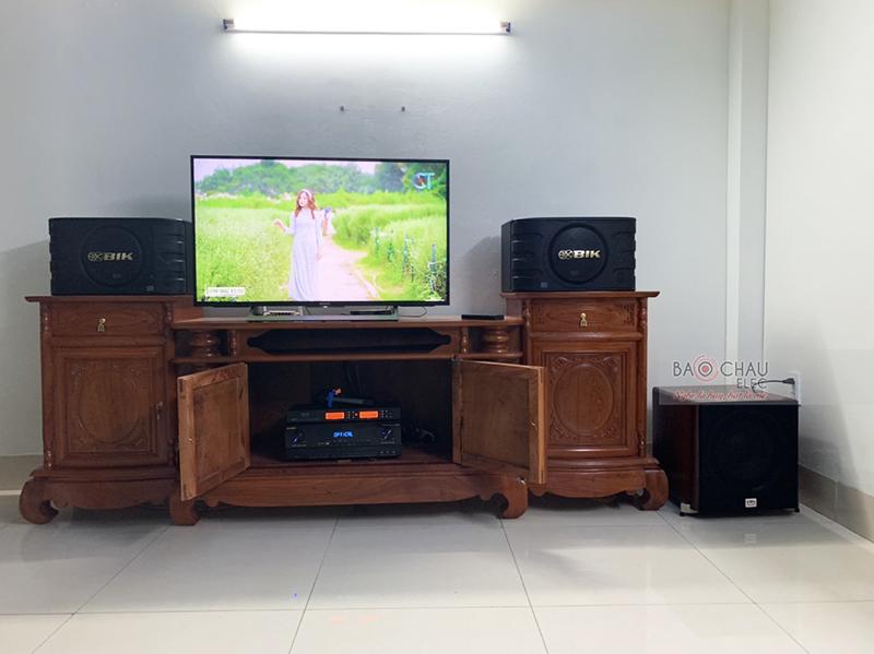 Dàn karaoke gia đình anh Lực tại Sóc Sơn - Hà Nội