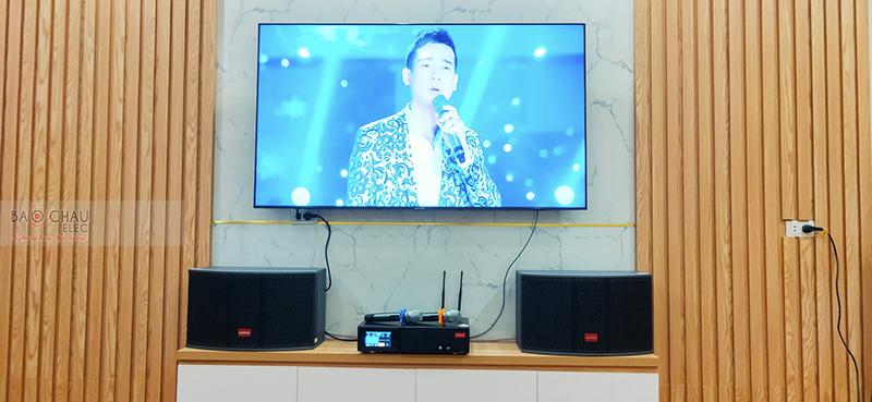 Dàn karaoke gia đình chị Lan tại Hà Nội
