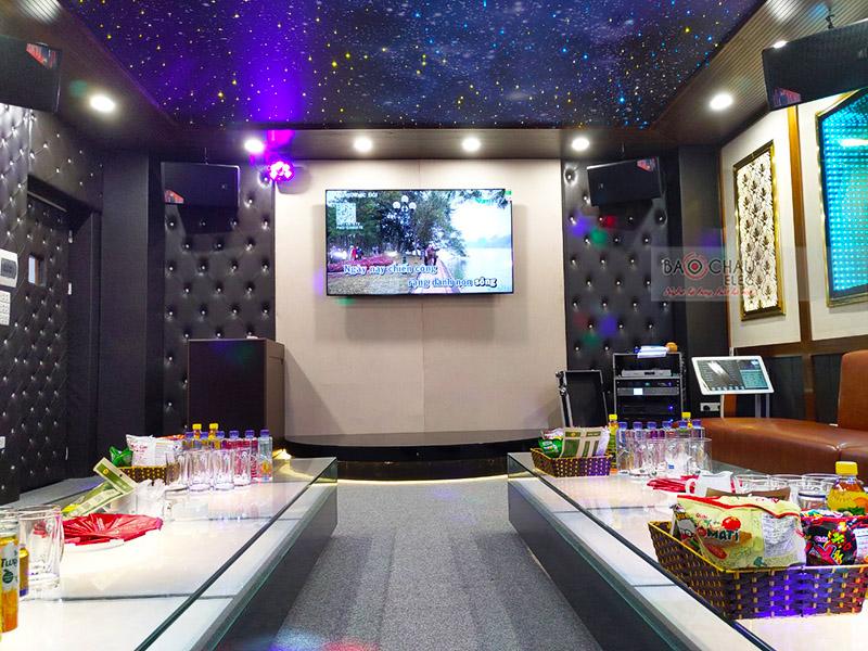 Lắp đặt phòng karaoke cho công ty THHH Một Thành Viên Cơ Khí Hóa Chất 13 tại Phú Thọ