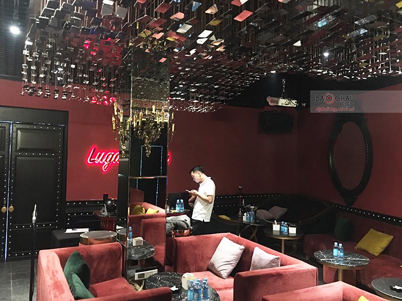 hệ thống âm thanh cho Quán bar Lugardecita tại Hà Nội h5
