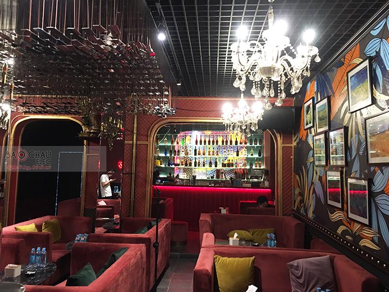 Lắp đặt hệ thống âm thanh cho Quán bar Lugardecita tại Hà Nội