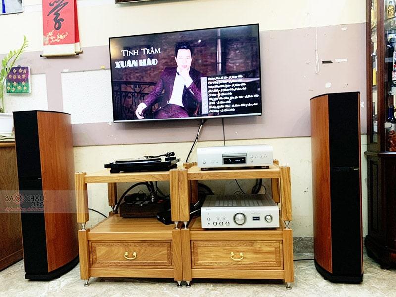 Lắp đặt dàn nghe nhạc cho anh Lợi tại Hà Nội