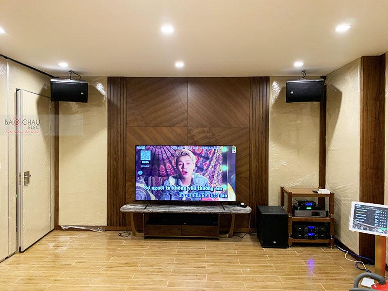 Hệ thống âm thanh karaoke tại Vinhome Green Bay Mễ Trì – Hà Nội