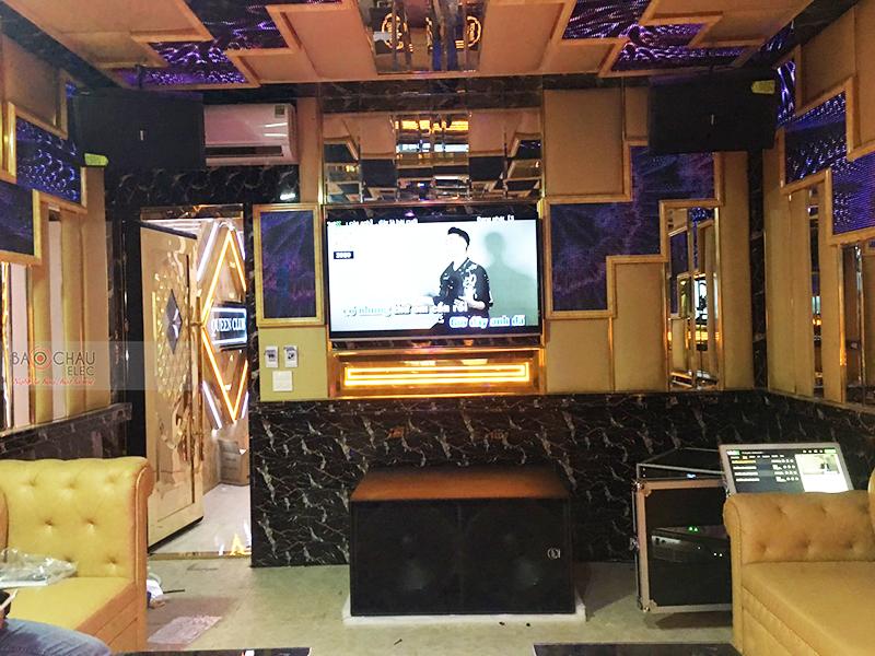 Công trình lắp đặt phòng hát quán karaoke kinh doanh Queen Club tại TP Hòa Bình
