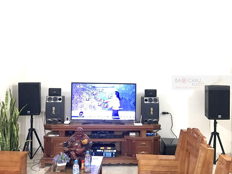Dàn karaoke gia đình anh Đông ở Kinh Môn h5