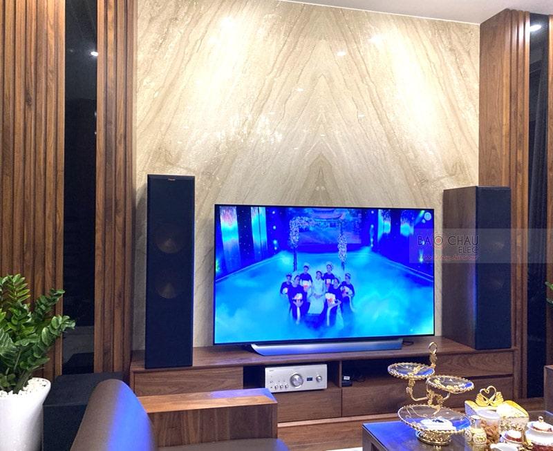 Dàn nghe nhạc của gia đình chị Nga ở Hải An, Hải Phòng
