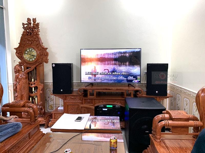 dàn karaoke cao cấp của gia đình anh Hồng h5