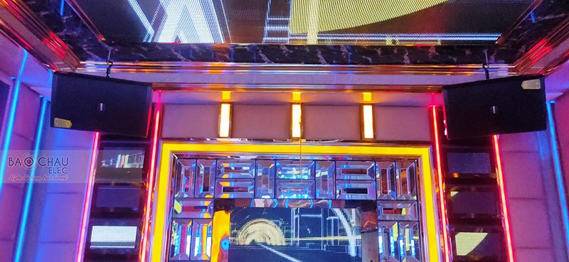 Công trình lắp đặt thêm phòng hát quán karaoke kinh doanh Queen Club tại TP Hòa Bình