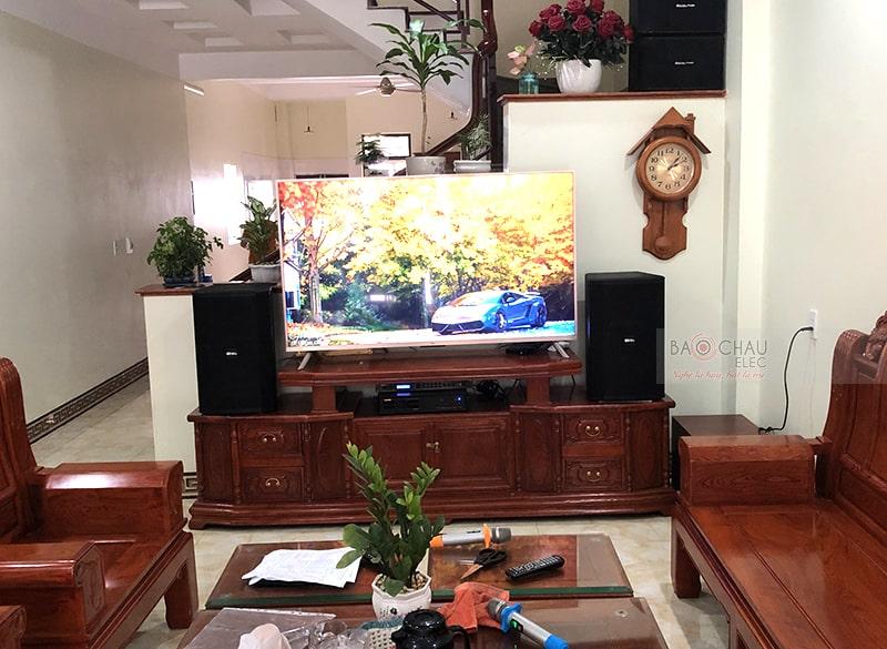 Dàn karaoke gia đình anh Hân ở Lạng Sơn h5