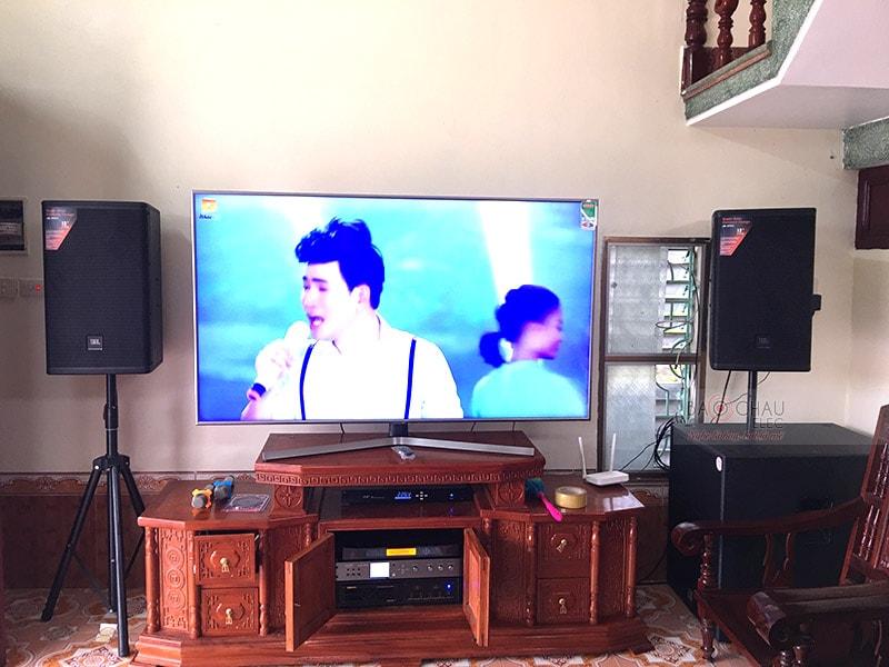 Dàn karaoke gia đình anh Dũng tại Nam Định