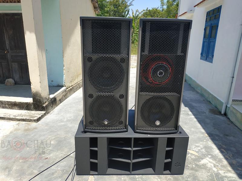 Lắp đặt bộ dàn karaoke kinh doanh cho anh Thảo