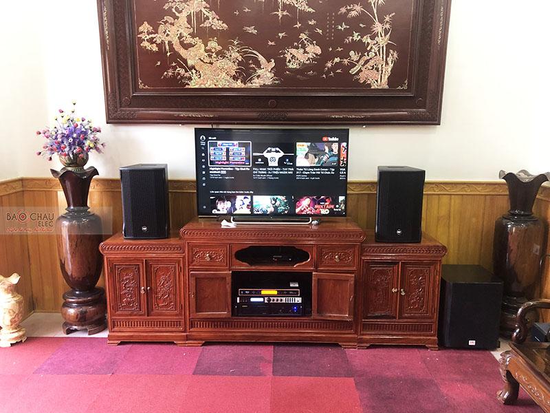 Dàn karaoke gia đình anh Tuấn tại Thái Bình