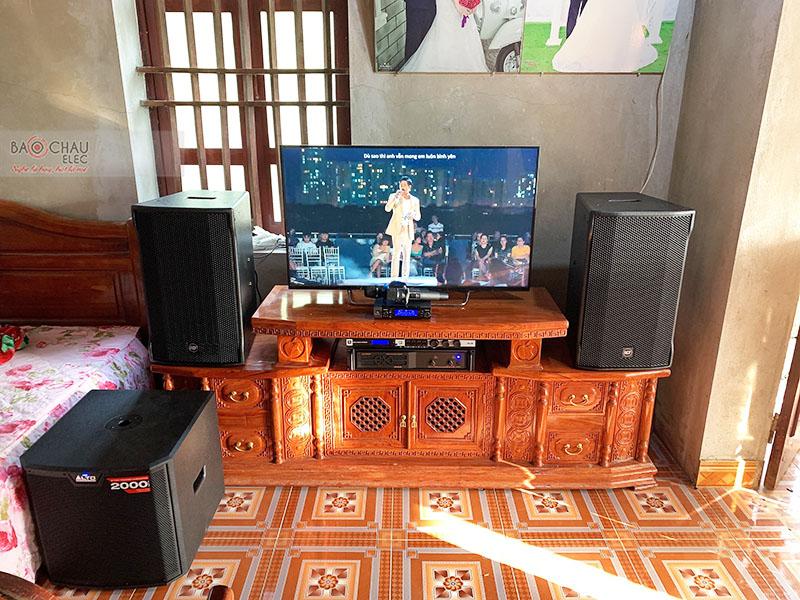 Dàn karaoke gia đình anh Dũng tại Thanh Hóa