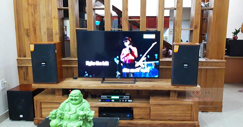 Dàn karaoke gia đình anh Tân tại Thanh Hóa