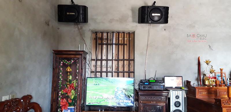 Dàn karaoke gia đình anh Thuận h4
