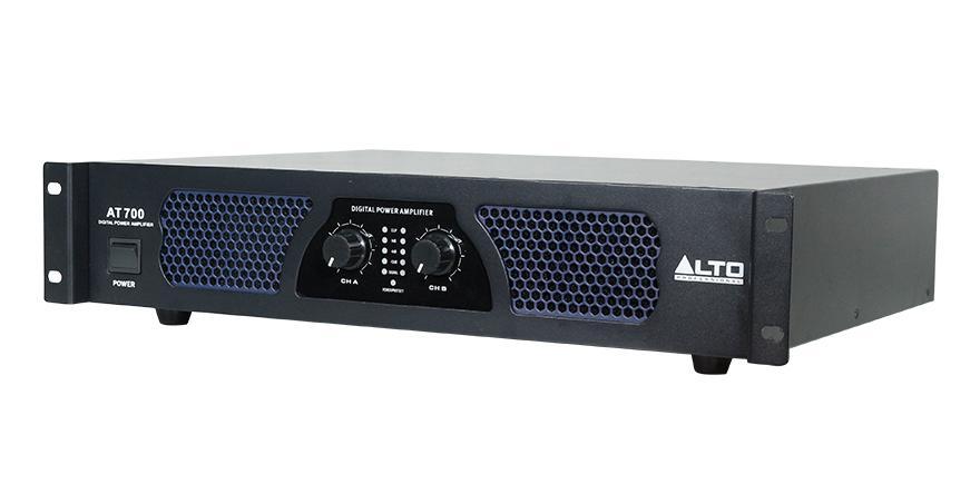 Cục đẩy Alto AT 700 sử dụng mạch Class D