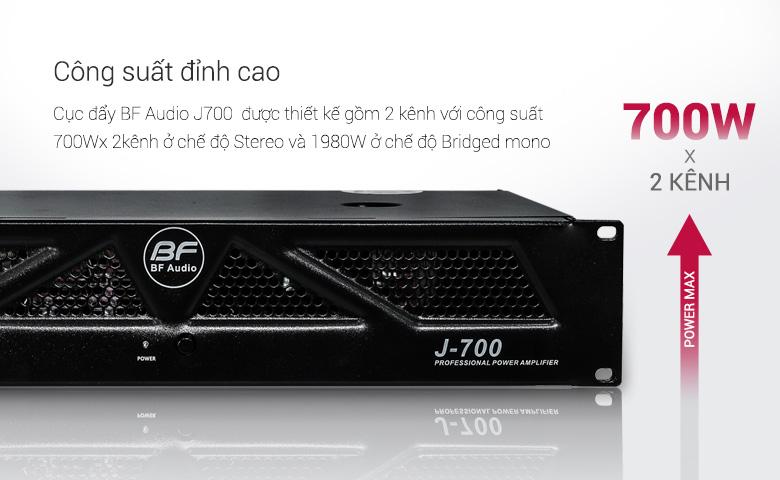 Cục đẩy BF Audio J700công suất 700W