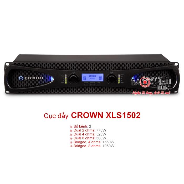 Cục đẩy công suất Crown XLS 1502