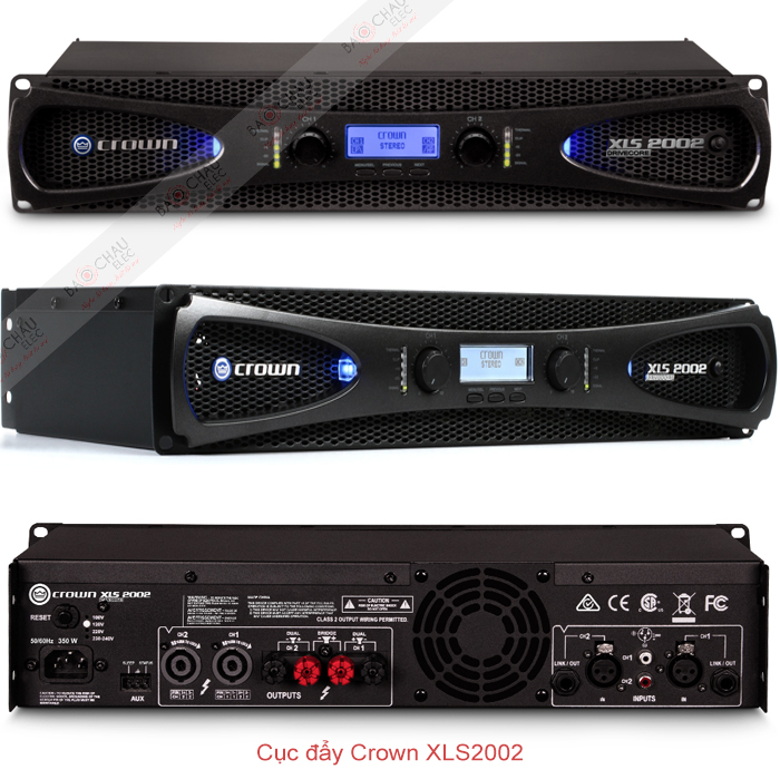 Cục đẩy công suất Crown XLS2002 chi tiết