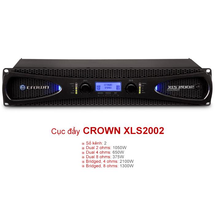 Cục đẩy công suất Crown XLS2002