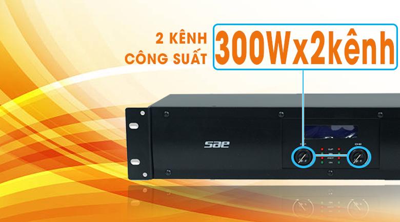 Cục đẩy công suất SAE CT3000 chính hãng giá tốt