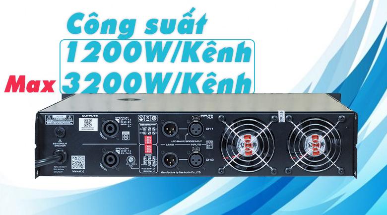Cục đẩy SAE CT12000x công suất mạnh mẽ
