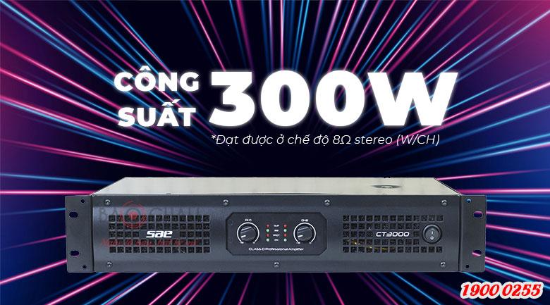 SAE CT3000 công suất lớn