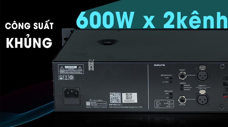 Cục đẩy công suất SAE CT6000 chính hãng giá tốt