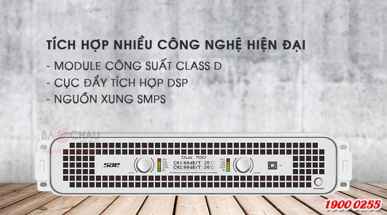 Cục đẩy SAE Duo700 xử lý âm thanh vuợt trội
