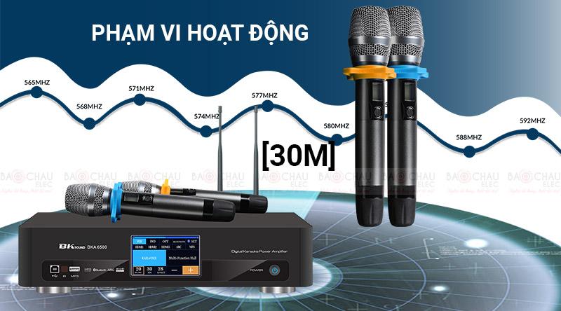 Micro không dây bắt sóng mạnh ổn định