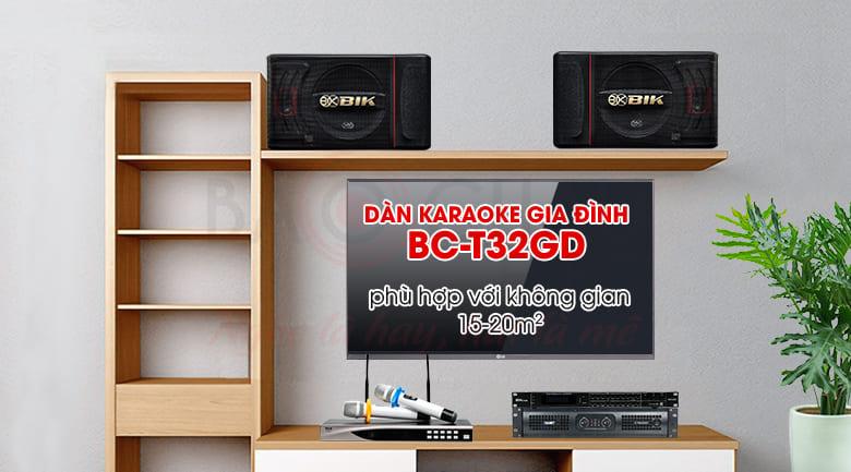 Dàn karaoke gia đình BC-T32GD