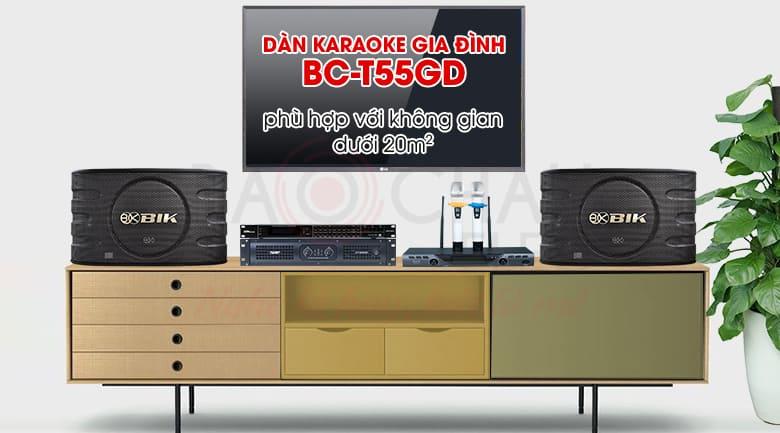 Dàn karaoke gia đình BC-T55GD
