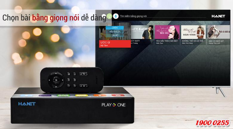 top 5 mẫu đầu karaoke bán chạy nhất tháng 2/2019: Đầu ổ cứng Hanet Play One 1TB