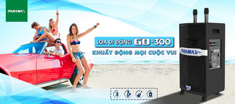 Loa kéo di động Paramax Pro Go 300 giá rẻ nhất thị trường