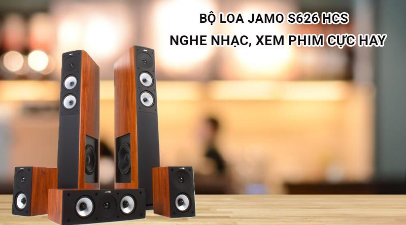 loa nghe nhạc, xem phim Jamo S626 HCS nghe nhạc, xem phim cực hay