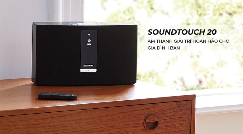 Loa BoseSoundtouch 20 III chính hãng giá tốt nhất tại Bảo Châu Elec
