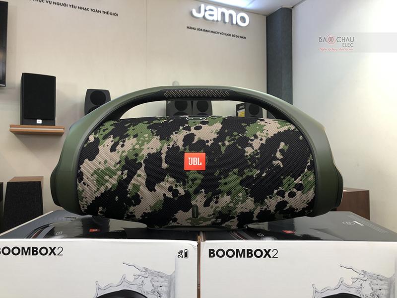 Loa Bluetooth JBL Boombox 2 màu rằn ri